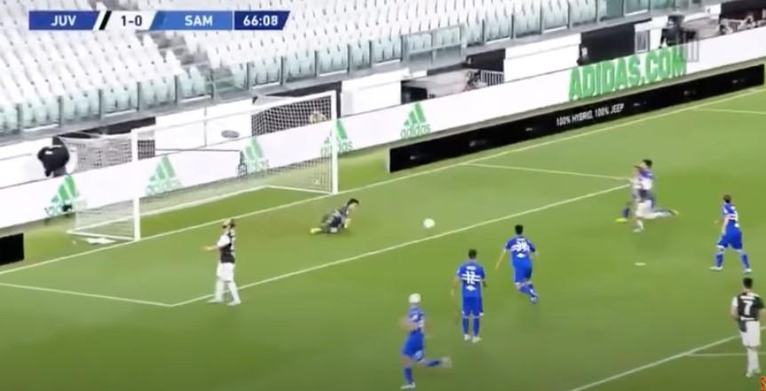 La corsa a vuoto di Higuain: Ronaldo non gliela passa e lui si arrabbia invece di esultare per il gol (VIDEO)