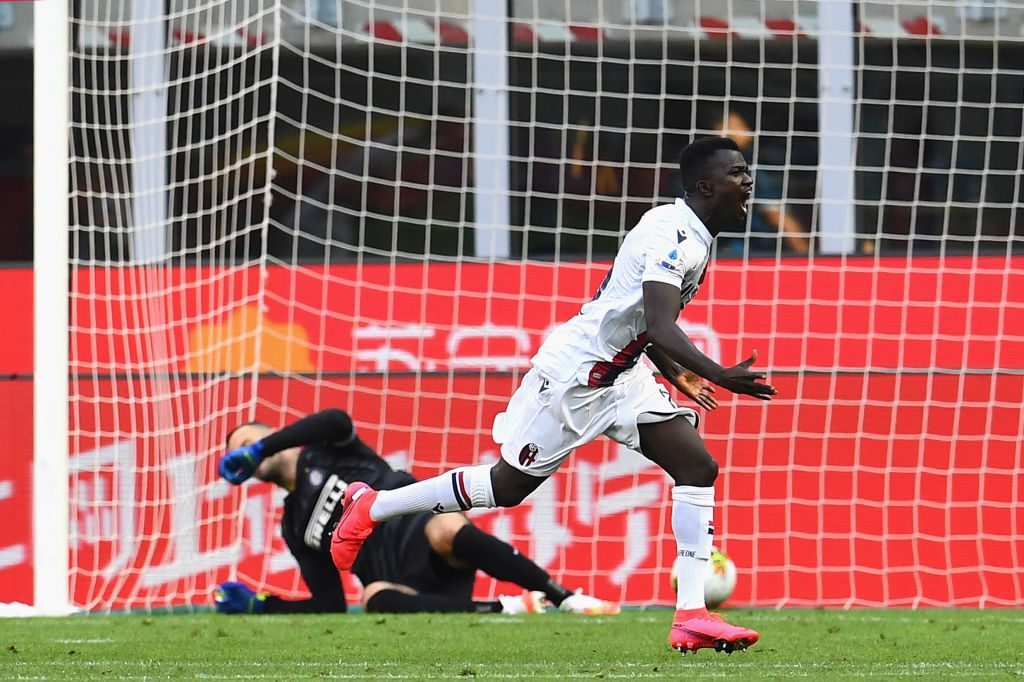 Juwara, arrivato in Italia su un barcone, scartato dall'Inter e autore del gol che affossa Conte