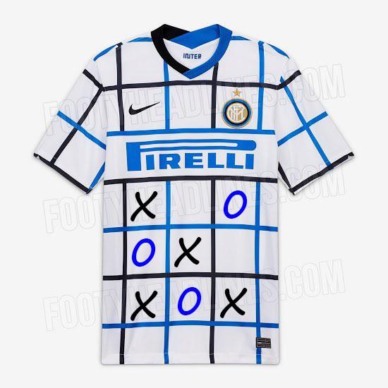 La nuova maglia dell'Inter è un pigiama. O una tovaglia. O un ...