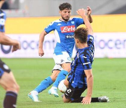 Il Napoli ha corso più dell'Atalanta (dati Lega Serie A)