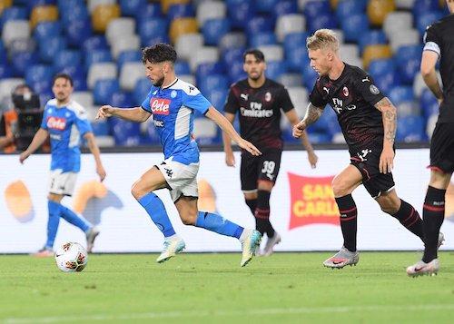 Uno dei migliori Napoli di Gattuso, ma due distrazioni di troppo: 2-2 col Milan