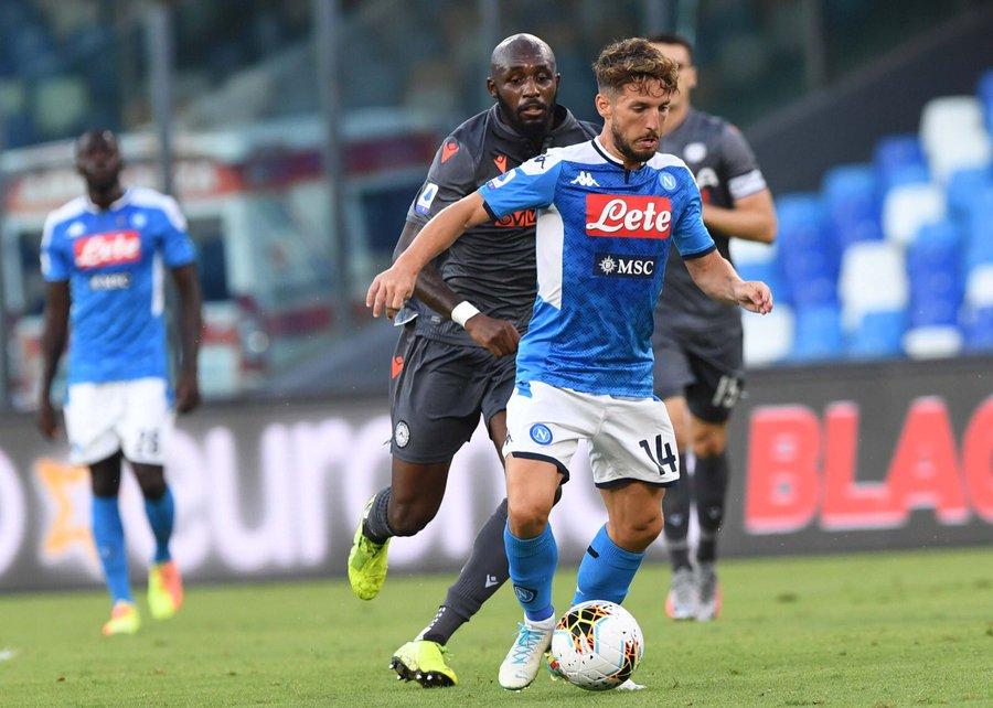 Sky: Parma-Napoli, ballottaggio Ghoulam-Mario Rui e Mertens-Osimhen