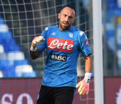 Paratutto Ospina, il migliore in campo per il Napoli