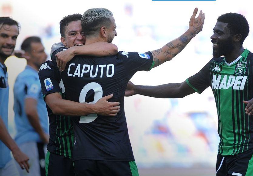 Caputo e il Sassuolo affossano la Lazio, terza sconfitta consecutiva per Inzaghi