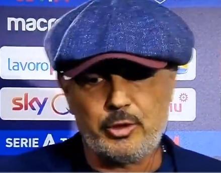 Mihajlovic: «Un'ottima partita. Abbiamo giocato meglio noi meritando di vincere»