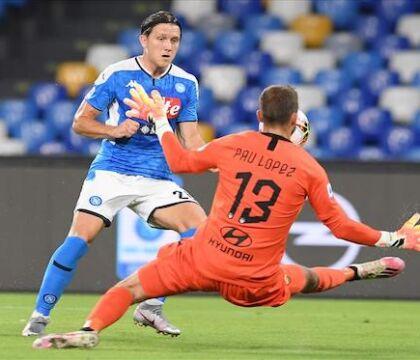 Nei doppi confronti il Napoli ha perso solo contro Atalanta