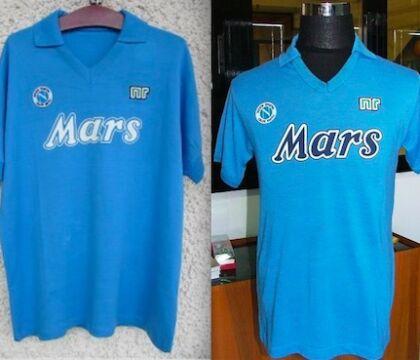 Mars rinunciò al rosso per la maglia del Napoli