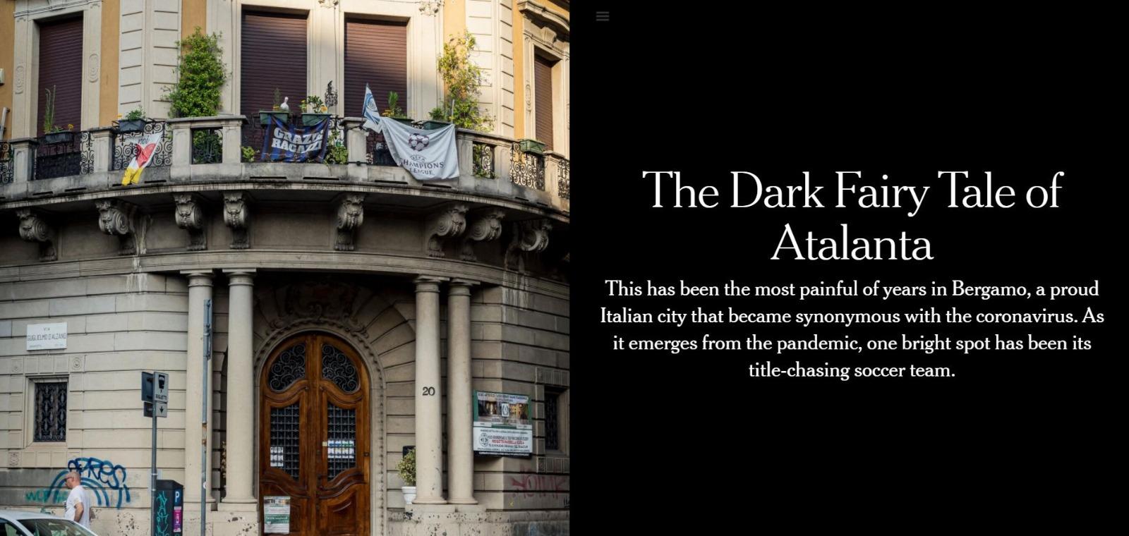 Dal NYT al Guardian, l'Atalanta è la storia del giorno sui media internazionali
