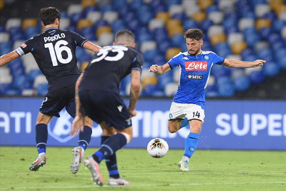 Si rivede Mertens e il Napoli vince e convince
