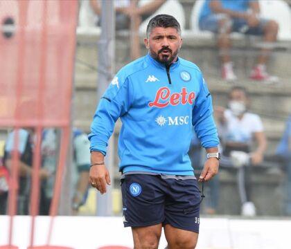 Gattuso: «La squadra da battere è l'Inter. Noi sul campo abbiamo 18 punti»