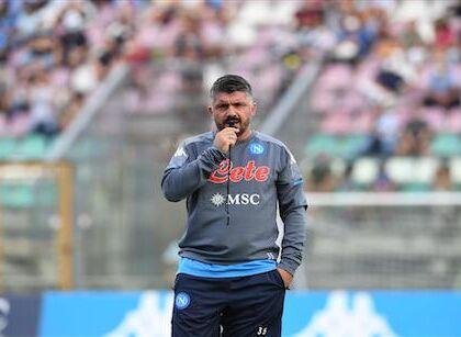 """Gattuso a Sky: """"Mertens ha stretto i denti, la caviglia non gli dà pace"""""""