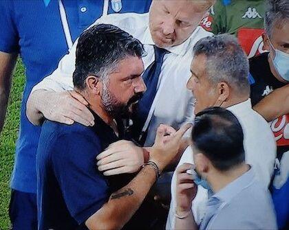 """S'è dimesso il fisioterapista della Lazio che chiamò Gattuso """"terrone di merda"""""""