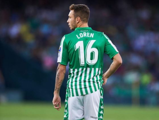 Real Betis, Loren Moròn positivo al Covid