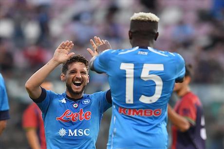 Gazzetta: a Parma Mertens in panchina. Per Gattuso, lui e Osimhen non possono convivere nel 4-3-3