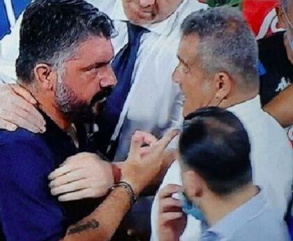 """Gli ispettori Figc a Castel Volturno per l'inchiesta sul """"terrone di merda"""" a Gattuso"""