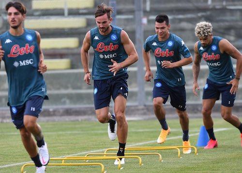 Il Napoli annuncia un nuovo giro di tamponi tutti negativi