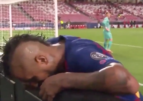 (VIDEO) – Vidal disperato al sesto gol del Bayern (mentre i tedeschi esultano)
