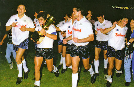 Il double del Napoli nel 1987: dopo lo scudetto, la Coppa Italia
