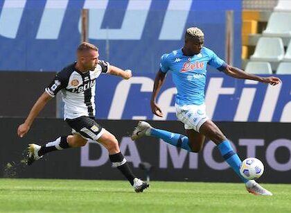 Parma Napoli 0 2, pagelle / Siamo tutti osimheniani. Demme è il grande boh
