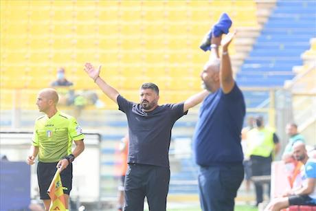 Gattuso: «Dobbiamo diventare squadra, dobbiamo imparare a soffrire»