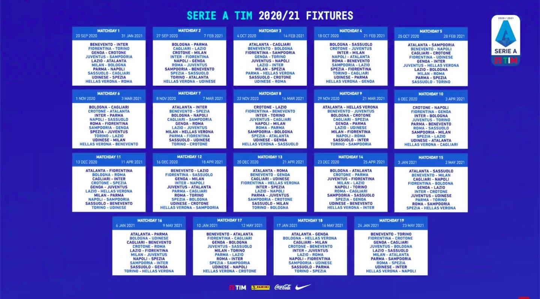 La Lega aggiorna il calendario: il Napoli (senza Champions