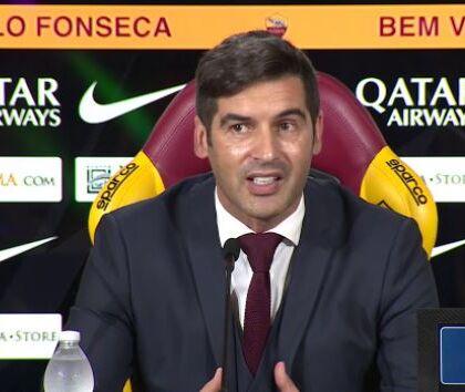 """Fonseca: """"Derby? Sono soprattutto deluso nei confronti dei nostri tifosi"""""""