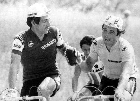 Hinault: «Moser era di un altro livello rispetto a Saronni, ma fu aiutato a vincere il Giro del 1984»