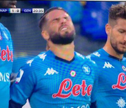 Sky: per Insigne si teme stop di 3 settimane, in forse per Juve Napoli