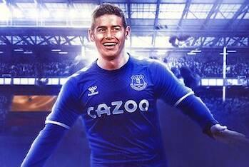 Guardare James Rodriguez all'Everton e provare un po' di invidia