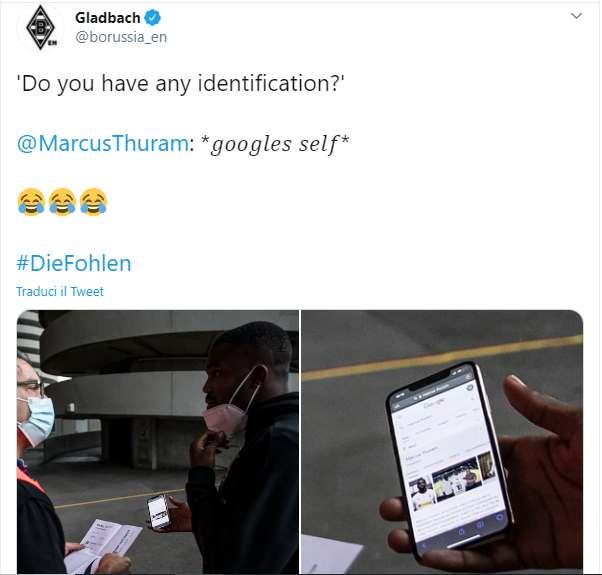 Marcos Thuram si è dovuto cercare su Google per entrare a San Siro