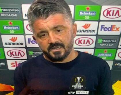 """Gattuso: """"I rigori li sbagliava Maradona e li può sbagliare anche Insigne"""""""