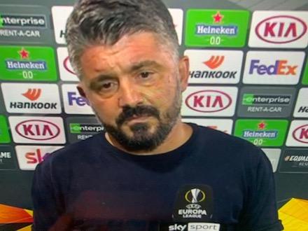 Gattuso: «Alla fine ci è andata bene. Il contratto? Vediamo»