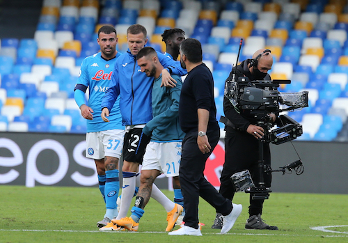 CorSport: Napoli, i titolarissimi sembrano appartenere a un'era glaciale