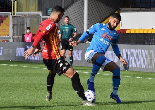 Il Benevento giocherà a Napoli senza Glik e Inzaghi, entrambi squalificati