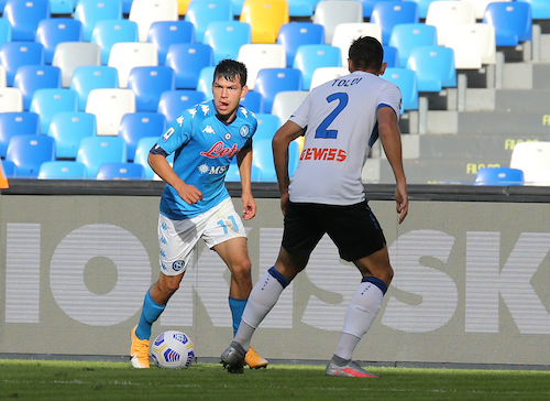Lozano: «Ringrazio Gattuso, è un grande, mi ha messo a mio agio»