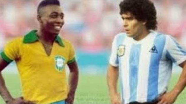 """Pelé: """"Diego, un giorno giocheremo insieme in cielo"""""""