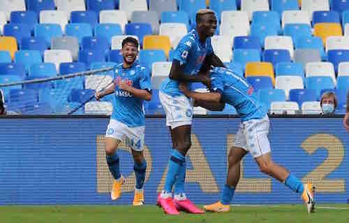 """""""Il Napoli avvolge la Dea e trasforma il San Paolo nell'Olimpo del calcio"""""""