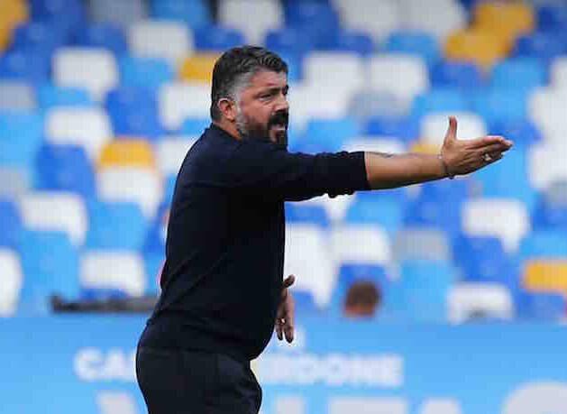Gazzetta: il Napoli ha accelerato sul rinnovo di Gattuso per paura di altri club