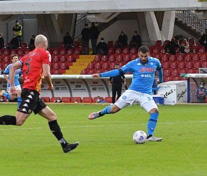 Il Napoli batte il Rijeka. Gol di Politano e Lozano