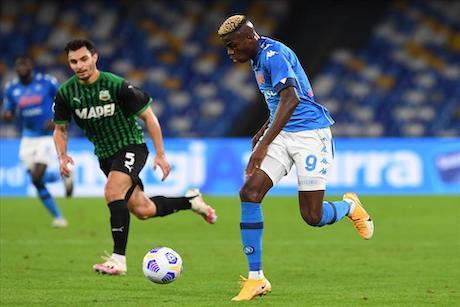 Napoli-Sassuolo 0-2, pagelle / Osimhen deve capire che la rezza va sfondata