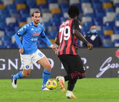 Il commento del Napoli    Il Milan vince al San Paolo con una doppietta di Ibra