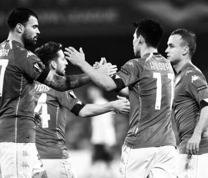 Per il Napoli 23 tiri contro il Rijeka, è record in una singola partita in stagione