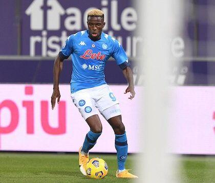 Osimhen, l'obiettivo è il rientro per fine mese contro il Parma