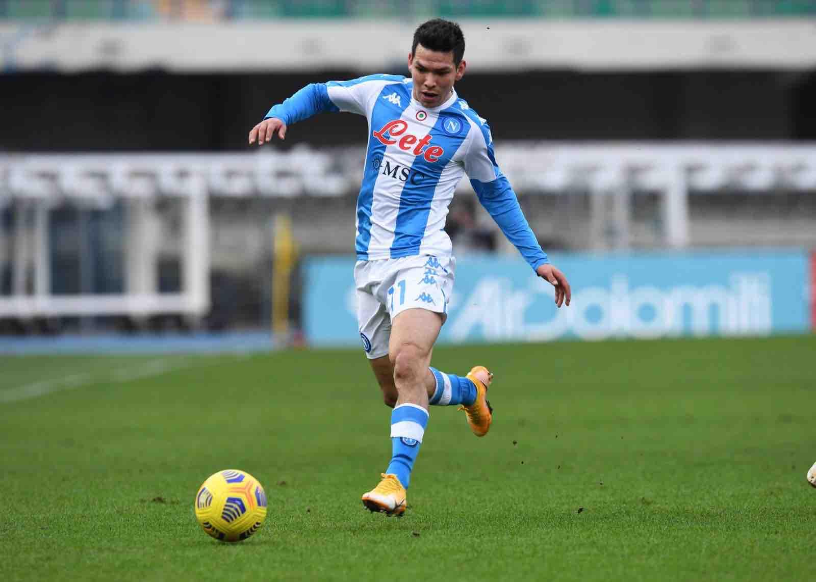 Lozano, gol dopo 9 secondi. È terzo nella classifica dei più veloci della Serie A