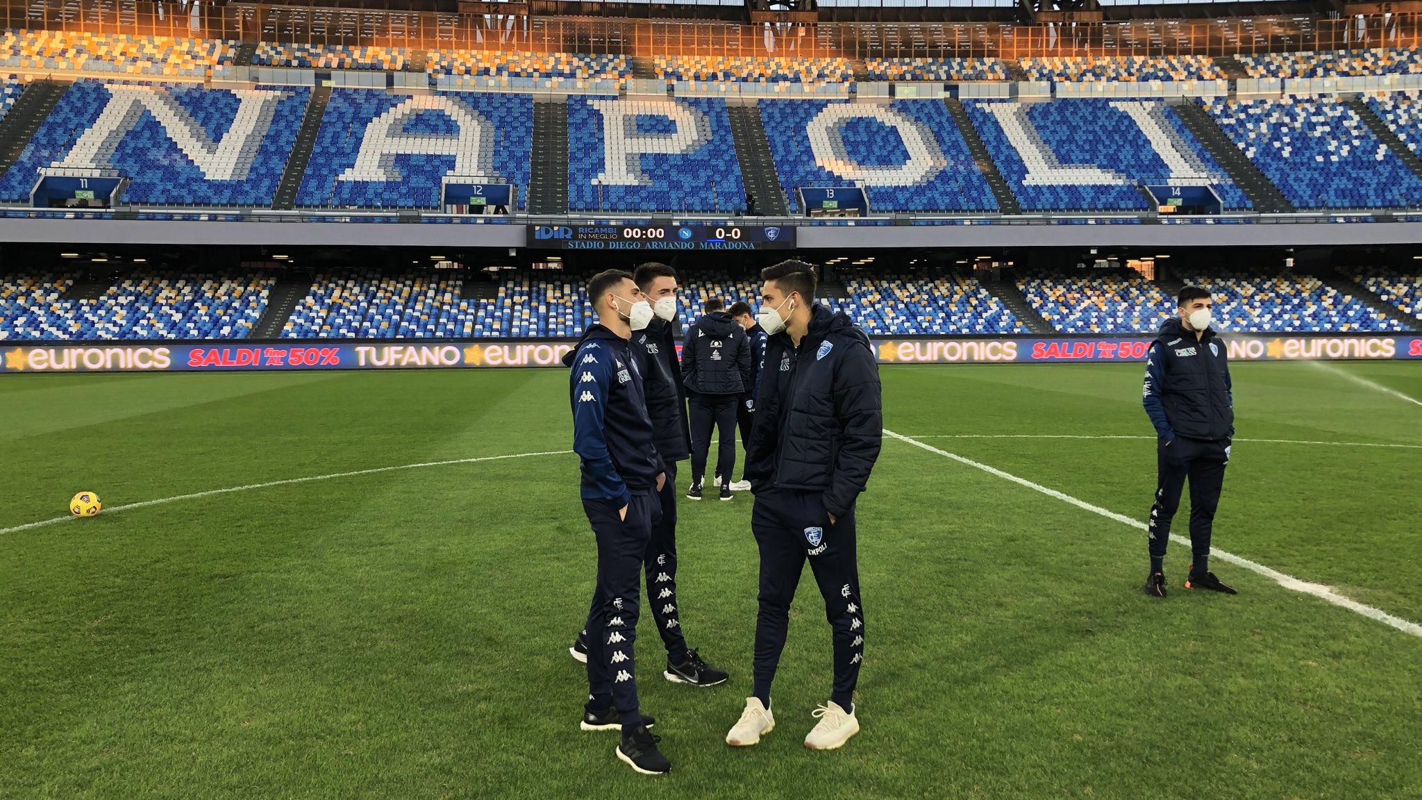 """Gatteschi (Empoli): """"Abbiamo saputo stanotte del positivo sul volo. Tutta la squadra è negativa"""""""