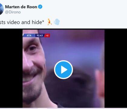 """De Roon è un uomo coraggioso, posta i 3 gol dell'Atalanta e sfotte Ibra: """"nasconditi"""""""