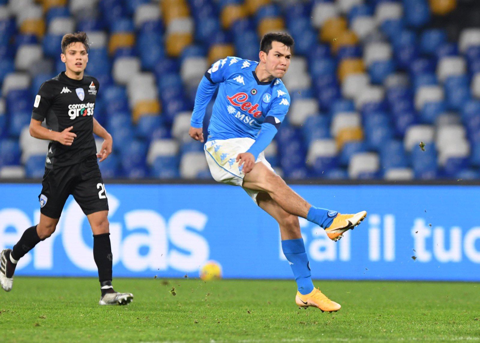 Napoli-Empoli 3-2, pagelle / L'iradiddio Lozano, almeno due spanne sopra il resto della squadra