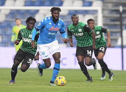 Giornale: finale farsesco tra Sassuolo e Napoli