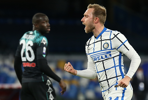 L'Inter: «Non abbiamo smesso nemmeno per un istante di pensare a Christian Eriksen»