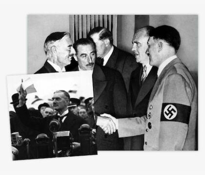 Il Telegraph: «Ceferin come Chamberlain che nel 38 parlò di tempo di pace»